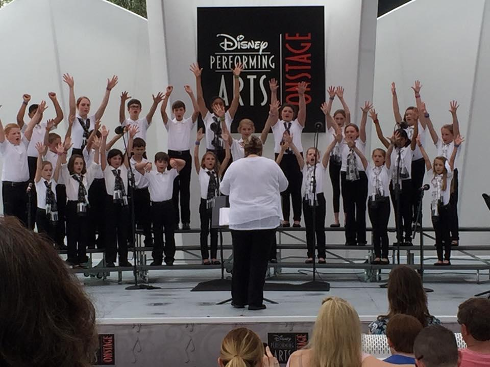 HVCS Choir Performs at Disney's Epcot in Orlando