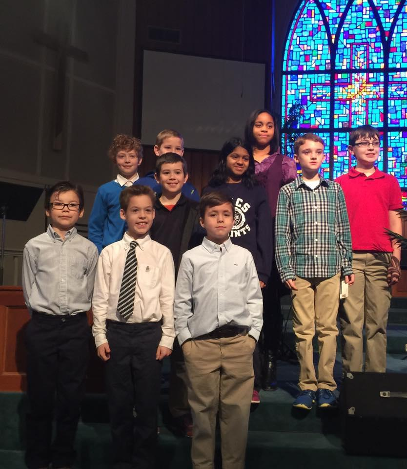 HVCS inducts 10 students to National Elementary Honor Society