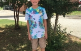 Fifth Graders Continue the Tie Dye Tradition