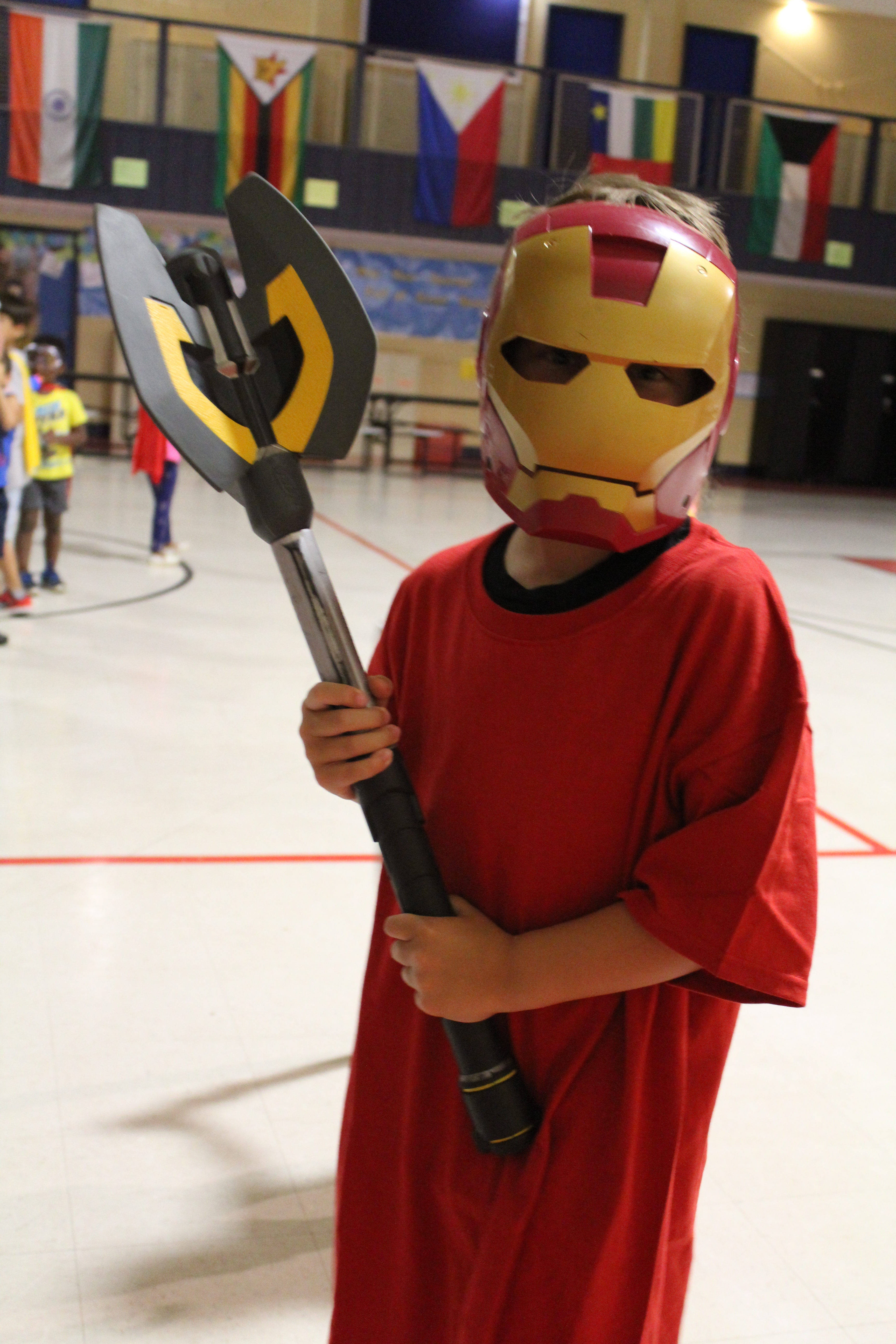 Up, Up and Away! It's Superhero Camp